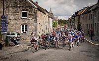 rolling through town<br /> <br /> 84th La Flèche Wallonne 2020 (1.UWT)<br /> 1 day race from Herve to Mur de Huy (202km/BEL)<br /> <br /> ©kramon