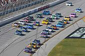 Monster Energy NASCAR Cup Series<br /> Alabama 500<br /> Talladega Superspeedway<br /> Talladega, AL USA<br /> Sunday 15 October 2017<br /> Denny Hamlin, Joe Gibbs Racing, FedEx Ground Toyota Camry and Matt Kenseth, Joe Gibbs Racing, DEWALT Flexvolt Toyota Camry<br /> World Copyright: Nigel Kinrade<br /> LAT Images