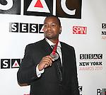 Miykal Snoddy attends The 2010 SESAC New York Music Awards at IAC Building, New York, 5/12/10
