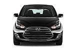 Car photography straight front view of a 2016 Hyundai ix20 Joy 5 Door Mini MPV Front View