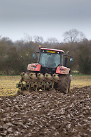 16.11.2020 Winter ploughing in Lincolnshire<br /> ©Tim Scrivener Photographer 07850 303986<br />      ....Covering Agriculture In The