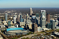 Charlotte North Carolina Skyline Aerials 11/2020