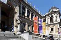 Universität auf dem Universitätsring, Wien, Österreich, UNESCO-Weltkulturerbe<br /> University at Universitätsring, Vienna, Austria, world heritage