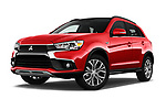 Stock pictures of low aggressive front three quarter view of 2017 Mitsubishi Outlander-Sport GT 5 Door SUV Low Aggressive