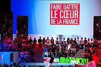 BenoÓt Hamon ‡ son Grand meeting ‡ L'Accorhotels Arena Bercy ‡ Paris le 19 mars 2017 . # GRAND MEETING DE BENOIT HAMON A PARIS