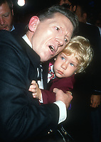 Jerry Lee Lewis and son<br /> 1989<br /> Photo By Michael Ferguson/CelebrityArchaeology.com