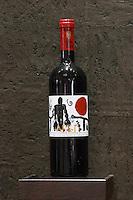 Tareti red. Biblia Chora Winery, Kokkinohori, Kavala, Macedonia, Greece