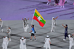 Myanmar delegation (MYA),<br />JULY 23, 2021 : <br />Tokyo 2020 Olympic Games Opening Ceremony at the Olympic Stadium in Tokyo, Japan. <br />(Photo by MATSUO.K/AFLO SPORT)