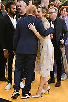 """Ed Sheeran and Lily James<br /> arriving for the """"Yesterday"""" UK premiere at the Odeon Luxe, Leicester Square, London<br /> <br /> ©Ash Knotek  D3510  18/06/2019"""