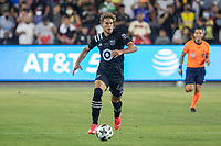LOS ANGELES, CA - AUGUST 25: Cade Cowell #44 of the MLS All Stars during the MLS All Star Game between the MLS All Stars and the Liga MX All Stars at the Banc of the California Stadium on August 25, 2021 in Los Angeles, California during a game between Liga MX All Stars and MLS All Stars at Banc of California Stadium on August 25, 2021 in Los Angeles, California.