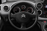 Car pictures of steering wheel view of a 2016 Citroen BERLINGO-MULTISPACE XTR+ 5 Door Mini MPV Steering Wheel