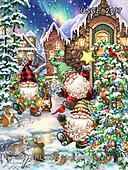 Dona Gelsinger, CHRISTMAS SANTA, SNOWMAN, WEIHNACHTSMÄNNER, SCHNEEMÄNNER, PAPÁ NOEL, MUÑECOS DE NIEVE, paintings+++++,USGE2107,#x#