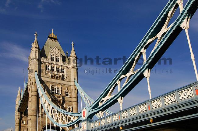 Tower Bridge, London, United Kingdom, Great Britain.