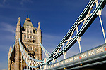 Tower Bridge, London, United Kingdom, Great Britain.