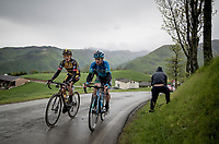 Koen Bouwman (NED/Jumbo-Visma) & co up the Colle Passerino (3km from the finish)<br /> <br /> 104th Giro d'Italia 2021 (2.UWT)<br /> Stage 4 from Piacenza to Sestola (187km)<br /> <br /> ©kramon