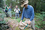 David Lindenmayer Releasing Mountain Brushtail Possum