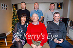 Tom Lynch celebrates his 80th Birthday at home in Caheranne Village, Tralee with his family. Seated l to r: Michelle O'Sullivan, Tom Sr and Tom Jr Lynch. Back l to r: Mike, James and Patrick Lynch.
