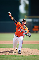 Baltimore Orioles pitcher Ryan Meisinger (37) during an Instructional League game against the Tampa Bay Rays on September 19, 2016 at Ed Smith Stadium in Sarasota, Florida.  (Mike Janes/Four Seam Images)