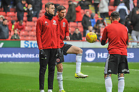 Sheffield United's midfielder Chris Basham (6) during the Sky Bet Championship match between Sheff United and Leeds United at Bramall Lane, Sheffield, England on 1 December 2018. Photo by Stephen Buckley / PRiME Media Images.