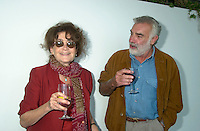 August 23,  2002, Montreal, Quebec, Canada<br /> <br /> Nina Companeez (L)  and ANTONIO BETANCOR (R) <br /> member of  the Jury of the 2002 Montreal World Films Festival, held Aug 22 to Sept 2 2002  in  Montreal, Quebec, Canada, at the Telefilm Canada Reception<br /> <br /> Born in 1944, Antonio Betancor brought a new elan to the Spanish cinema in the late 1970s and early 1980s with such films as Sitting on the Edge of Tomorrow With One's Feet Hanging (1978) and VALENTINA (1982), both winners of prestigious prizes in Spain. His latest film, MARARÕA (1998), adapted from the novel by Rafael Arozarena on life in the Canary Islands in the 1940s, was shown in a score of festivals worldwide. It won the Goya (the Spanish Oscar) for best cinematography as well as first prize at the 1999 Miami Hispanic Film Festival.