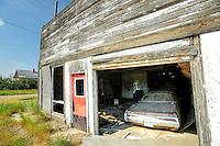 Ghost town Robsart, Saskatchewan, Canada
