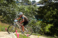 Maxine Filby , GB     London Prepares Mountain Bike Olympic Test Event , Hadleigh Farm , Essex , July 2011 pic copyright Steve Behr / Stockfile
