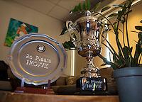 Hilversum, The Netherlands, March 12, 2016,  Tulip Tennis Center, NOVK, trophy's<br /> Photo: Tennisimages/Henk Koster