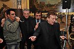 EDOARDO BENNATO, TONY SANT'AGATA LITTLE TONY E PUPO<br /> FESTA DEGLI 80 ANNI DI MARTA MARZOTTO<br /> CASA CARRARO ROMA 2011