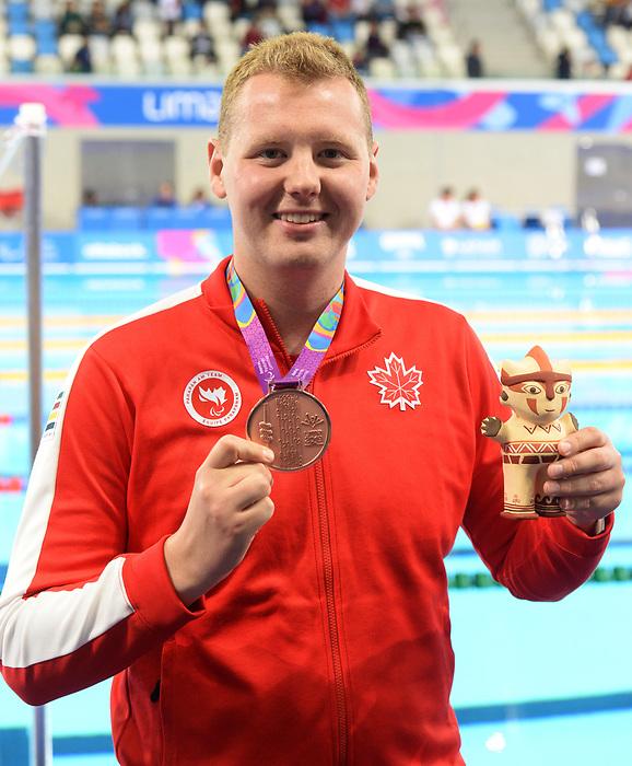 Tyson MacDonald, Lima 2019 - Para Swimming // Paranatation.<br /> Tyson MacDonald competes in Para Swimming // Tyson MacDonald participe en paranatation. 26/08/2019.