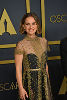 LOS ANGELES, USA. February 09, 2020: Natalie Portman at the 92nd Academy Awards at the Dolby Theatre.<br /> Picture: Paul Smith/Featureflash