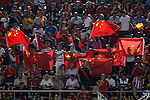 China's supporters during friendly match.June 3,2012.(ALTERPHOTOS/Acero)