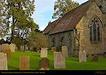 Church of St. John the Baptist 1170, Penshurst Village, Kent, England, UK