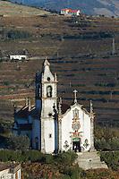 church , cidadelhe, mesao frio douro portugal