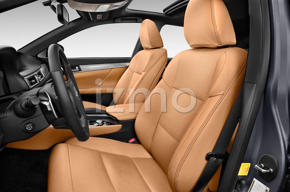 Front seat view of a 2014 Lexus GS 300H Hybrid F Sport Line 4 Door Sedan 2WD Front Seat car photos