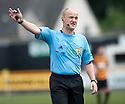 Referee Mat Northcroft.