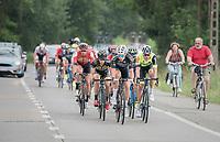 Wout Van Aert (BEL/Willems Veranda's - Crelan) leading the break<br /> <br /> 10th Heistse Pijl 2017