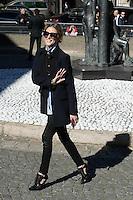 Olivia Palermo - Show MIU MIU - Paris Fashion Week Womenswear Spring/Summer 2017 - 5 octobre 2016 - FRANCE