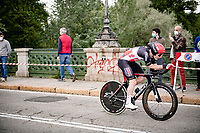 Jasper De Buyst (BEL/Lotto Soudal)<br /> <br /> 104th Giro d'Italia 2021 (2.UWT)<br /> Stage 1 (ITT) from Turin to Turin (8.6 km)<br /> <br /> ©kramon