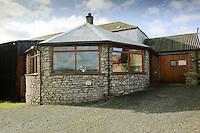 A converted gin case ñ a circular horse engine house, Cumbria...Copyright..John Eveson, Dinkling Green Farm, Whitewell, Clitheroe, Lancashire. BB7 3BN.01995 61280. 07973 482705.j.r.eveson@btinternet.com.www.johneveson.com
