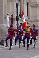Lima, Peru - Changing of the Presidential Guard