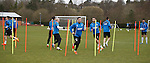 Rangers players poledancing