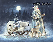 Liz,CHRISTMAS SANTA, SNOWMAN, WEIHNACHTSMÄNNER, SCHNEEMÄNNER, PAPÁ NOEL, MUÑECOS DE NIEVE, paintings+++++,USHCLD0049,#x#