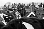 Upper Slaughter, Gloucestershire 1975 UK. Mr Kenneth Pugh