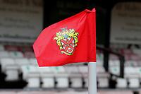 General view of the corner flag during Hornchurch vs Dagenham & Redbridge, Friendly Match Football at Hornchurch Stadium on 24th July 2021