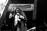 August 3, 1984 File Photo - Peter Tosh in concert at the Olympic Stadium