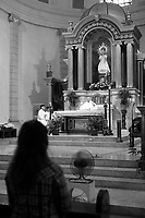 Malate church in Manila, Philippines