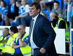 St Johnstone v Falkirk…24.07.18…  McDiarmid Park    Betfred Cup<br />Saints manager Tommy Wright<br />Picture by Graeme Hart. <br />Copyright Perthshire Picture Agency<br />Tel: 01738 623350  Mobile: 07990 594431