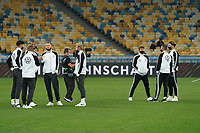 Jonathan Tah (Deutschland Germany), Kai Havertz (Deutschland, Germany), Torwart Bernd Leno (Deutschland Germany), Timo Werner (Deutschland Germany), Julian Brandt (Deutschland Germany), Luca Waldschmidt (Deutschland Germany), Joshua Kimmich (Deutschland Germany), Robin Goosens (Deutschland Germany) - 10.10.2020: Ukraine vs. Deutschland, UEFA Nations League, 3. Spieltag, Olympiastadion Kiew <br /> DISCLAIMER: DFB regulations prohibit any use of photographs as image sequences and/or quasi-video.