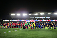 Carson, CA - Sunday January 28, 2018: United States (USA), Bosnia and Herzegovina (BIH) during an international friendly between the men's national teams of the United States (USA) and Bosnia and Herzegovina (BIH) at the StubHub Center.