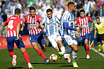 CD Leganes' Oscar Rodriguez Arnaiz (r) and Atletico de Madrid's Rodrigo Hernandez during La Liga match. November 3,2018. (ALTERPHOTOS/Acero)